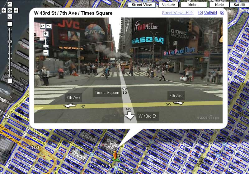 google street view in action: was taugt das neue feature?