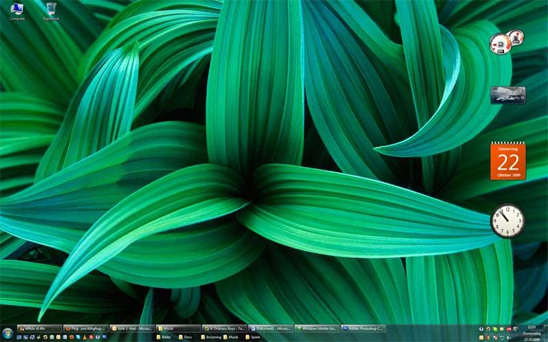 windows 7: 64 bit, fehlende schnellstartleisten und ein erforderlicher cd-/dvd-treiber